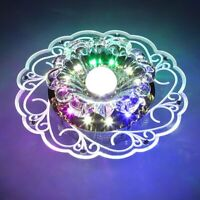 Modern Crystal 5W LED Ceiling Light Fixture Pendant Lamp Lighting Chandelier