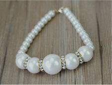 Pet Dogs Fake Pearl Charming Collars Necklace
