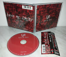 CD KORN - HERE TO STAY - JAPAN - EICP 79