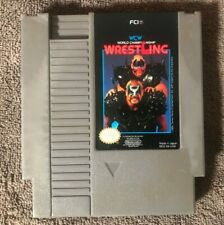 World Championship Wrestling WCW -  NES Nintendo Video Game - TESTED - WORKING