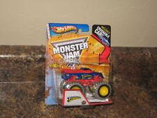 2013 Hot Wheels Monster Jam 1:64 Superman Ford F-150 Mud Trucks VHTF