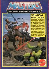 Pubblicità Advertising Werbung 1985 MATTEL Masters of the Universe FISTO/STRIDOR