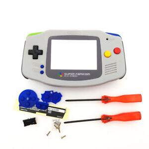 GBA Nintendo Game Boy Advance Replacement Housing Shell Screen SFC SUPER FAMICOM