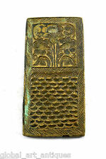 Rare Collectible Vintage Mughal Bronze Jewelery Making Stamp/Mold. G46-168 AU