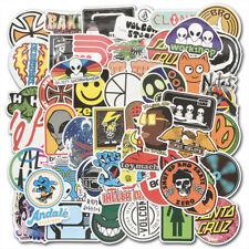 100 Skateboard Stickers Bomb Laptop Luggage Car Skateboard Vinyl Decals Lot Cool