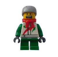 Lego Junge mit Schal Octan City hol070 Minifigur Figur Legofigur Kind Town Neu