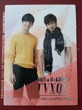 TVXQ DBSK Tohoshinki official SMTown III Korea ver 2 Yunho Changmin photocard