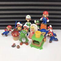 Large Bundle - Super Mario Figures/Toys