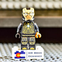 LEGO Iron Man Mark 41 Armor Hall of Armor 76125 Avengers Endgame Tony Stark