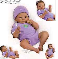 Ashton Drake baby doll Sweet  Pea Weighted - Poseable lifelike