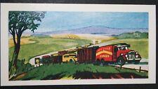 Circus Lorry Train     Superb Illustrated Card  # EXC