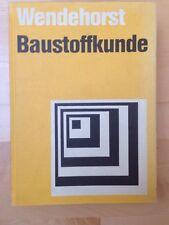 Wendehorst: Baustoffkunde