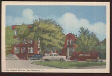 Postcard MONCTON New Bruswick/CANADA  City Hospital view 1940's