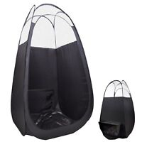 Portable Airbrush Pop Up Spray Tanning Tent Mobile Sunless Booth Huge Bag Black