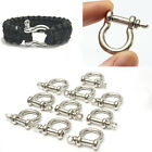 10X O-Shaped Stainless Steel Shackle Buckle For Paracord Survival Bracelets Hot