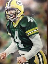 Brett Favre  On Canvas 24 X 36 Green Bay Packers NFL Quaterback