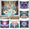 Psychedelic Indian Yoga Tapestry Mysterious Home Wall Hanging Ornaments Decor
