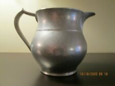 VINTAGE WILTON RWP COLUMBIA PA. USA PEWTER 4+ CUP PITCHER