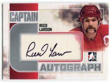 2011-12 ITG Captain-C Autographs Silver RLA Reed Lason Auto
