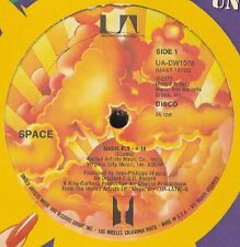 "SPACE Magic Fly / Fasten Seat Belt 12"" - 1977"