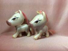 Bratz Doll Retired RARE Ponyz Ponys Horses Horsez White Celeste x Two