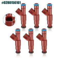 6X Fuel Injectors for Jeep Grand Cherokee Wrangler Ford Replace BOSCH 0280156161