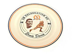 1992 Corning Limited Edition Plate Celebration ERNIE DAVIS Syracuse Football -