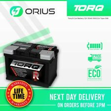 Torq R Car Battery 12V 55Ah 550CCA Type 096 - Free Next Day Delivery