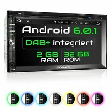 DAB+ AUTORADIO MIT ANDROID 6.0.1 2GB 32GB NAVI DVD USB SD WLAN BLUETOOTH 2DIN