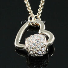 Rose Gold Plated Round Costume Necklaces & Pendants