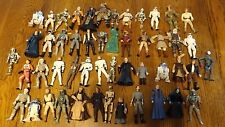 Star Wars Jedi Luke Sith Han POTF SAGA TPM lot D of 50 figures ANH ESB ROTJ