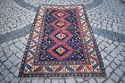 Antique Kazak Rug 48'' x 79'' Fabulous Caucasian Collector's Distressed Carpet