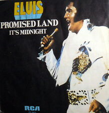 "PROMISED LAND  ELVIS PRESLEY  7"" PS ITALY '74  IT'S MIDNIGHT RCA VICTOR PB10074"