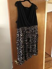 torrid Size 3 Leopard Dress With Pockets
