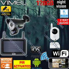 Surveillance Security System Wireless Cameras Office House IP WIFI Remote View