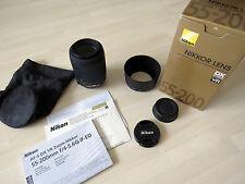 Nikon DX Zoom Nikkor 55-200 mm F/4-5.6 DX G SWM AF-S VR IF ED Objektiv