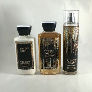 Bath and Body Works Into the Night Body Lotion Shower Gel Fragrance Mist