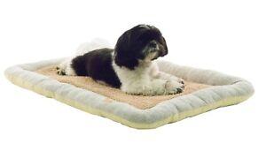 Nano-Silver Anti-Bacterial Neutral Carpentry Designer Reversible Pet Dog Bed Mat