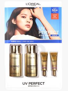 UV Perfect Broad UV Sunscreen H.A. Gel Aqua SPF50+ PA++++ from LOREAL PARiS New