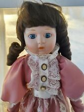 Heritage Mint Collection Porcelain Doll - 1988 - 1989 with Stand