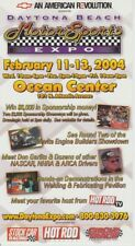 2004 Don Garlits Daytona Beach Motorsports Expo NHRA appearance handout