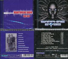 2 CDs, Heartbreak Radio - On Air (2013) + Sapphire Eyes (+1) Mikael Erlandsson