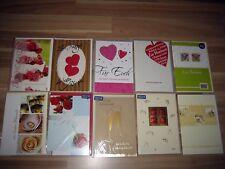 10 x Grußkarten - Hochzeit - mit Umschlag - Neu - Doppelkarten