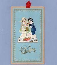 Vintage Valentine Card Valentine'S Day Wall Hanger 1930s Carrington