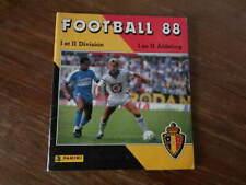 Album PANINI FOOTBALL 88 (1988) BELGIQUE BELGIUM Complet Bel etat