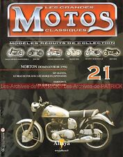 MOTOS CLASSIQUES 21 NORTON 500 Dominator 88 1956 Histoire MV AGUSTA Story