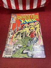 VINTAGE COMIC - FANTASTIC FOUR VERSES THE X-MEN #4 JUNE 87 $1.5