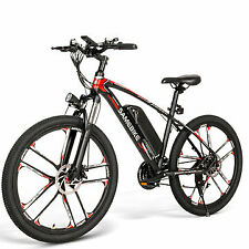 Bici Elettrica SAMEBIKE 350W 48V 8Ah 26inch Electric Bike 30km/h vel max
