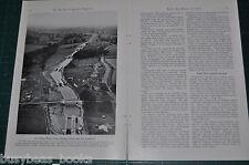 1940 BRITISH MIDLANDS CANOE TRIP magazine article, Canals people history etc