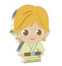 1oz Silver, Chibi ™, Luke Skywalker ™, Collection Star Wars ™ Series